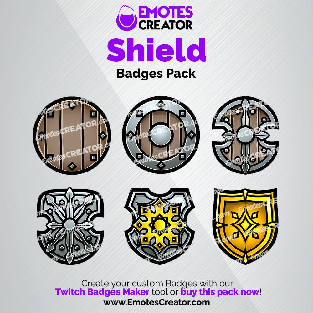 Shields Twitch Badges