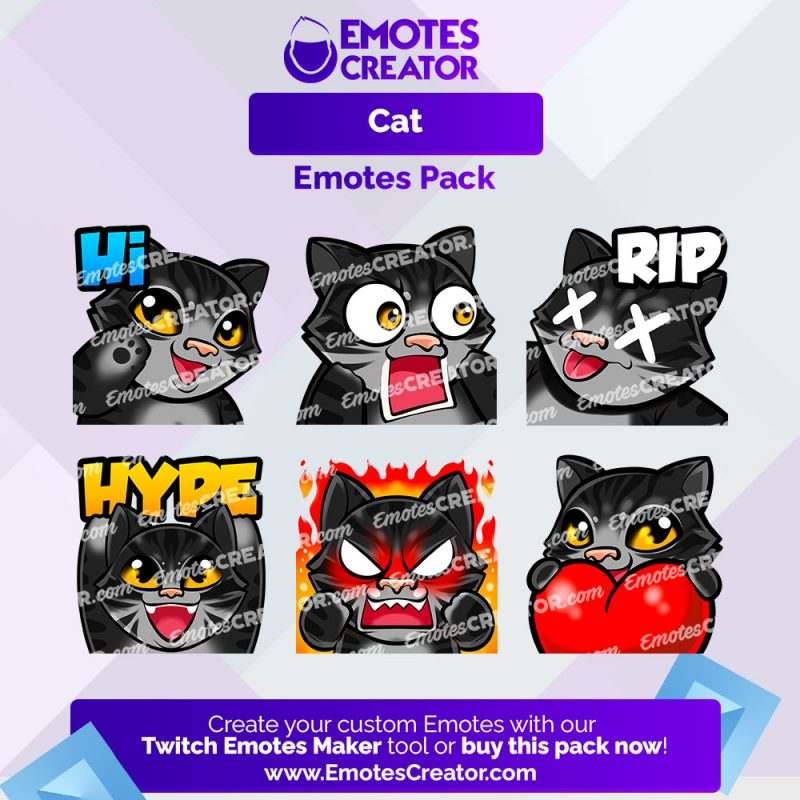 Cat Emotes Pack