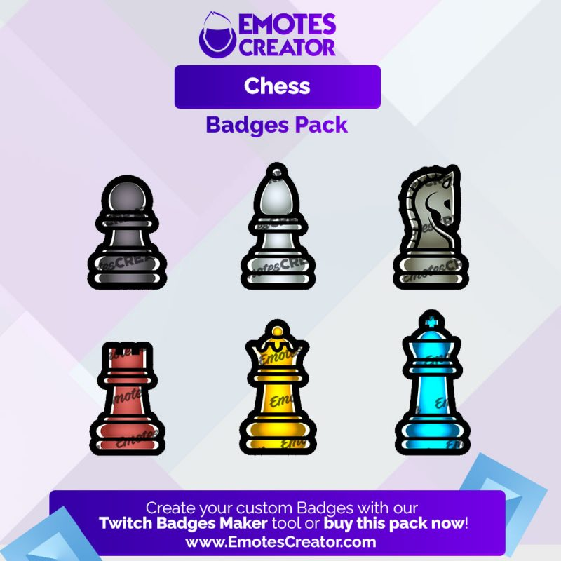 Chess Sub Badges Pack