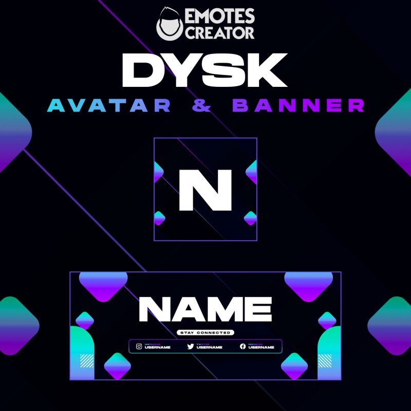 """Dysk"" Avatar & Banner"