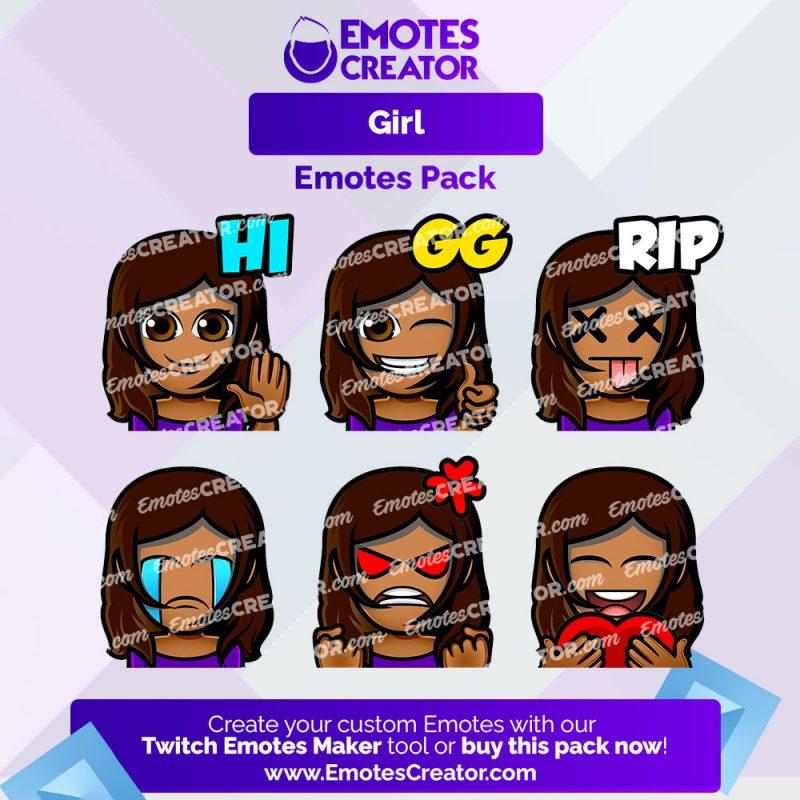 Girl Emotes Pack
