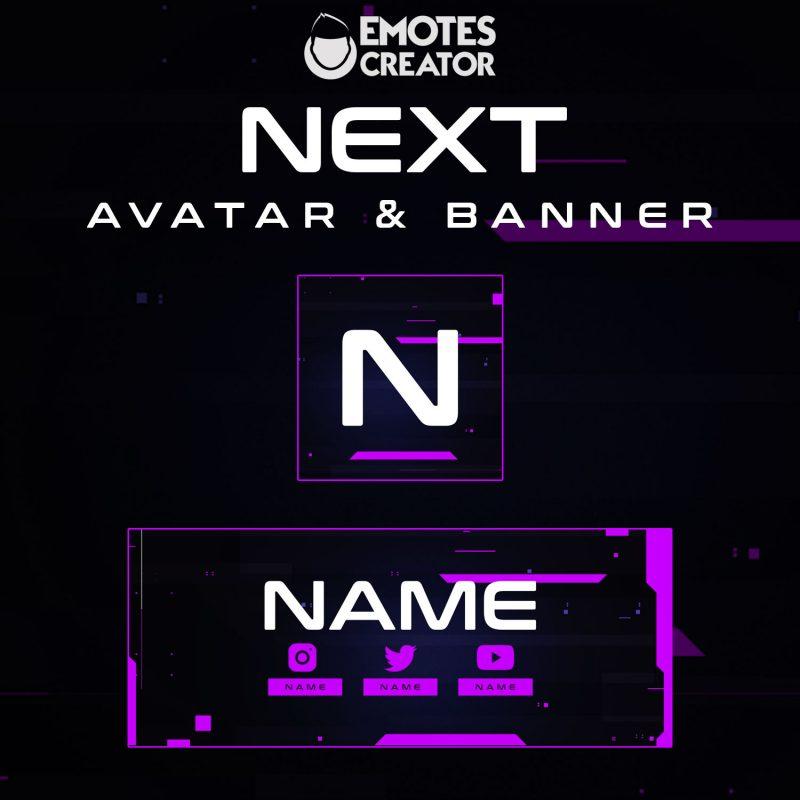 """""""Next"""" Avatar & Banner"""