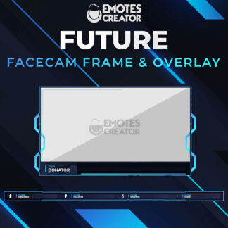 Future facecam Twitch frame overlay