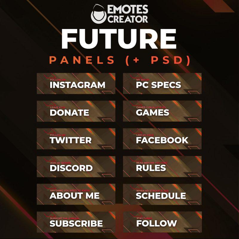 Future Twitch Panels